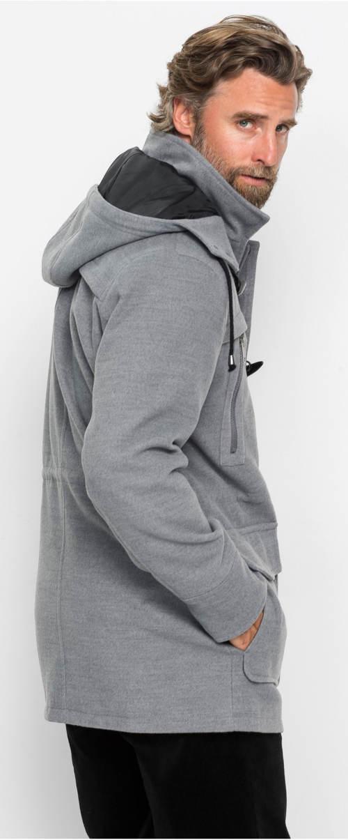 Lehčí pánský vlněný kabát