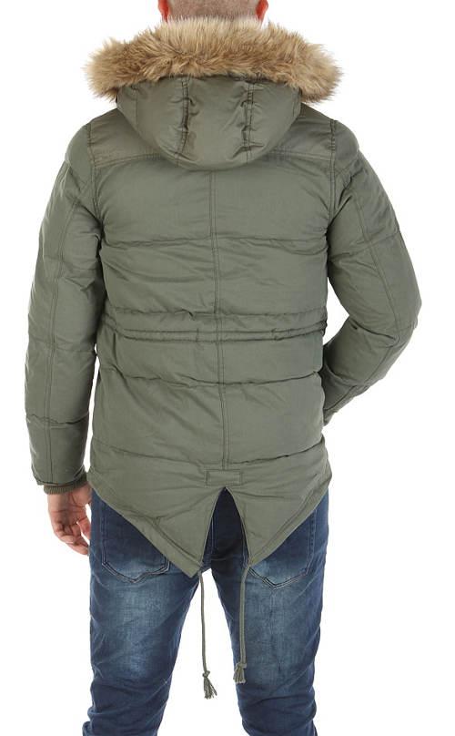 Levná pánská zimní bunda Adidas