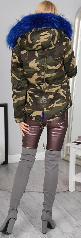 Moderní dámská army bunda pro mladé