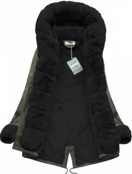 Krásná a moderní dámská zimní bunda ELORA fd1dae12bc3