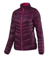 Moderní fialová zimní bunda Puma