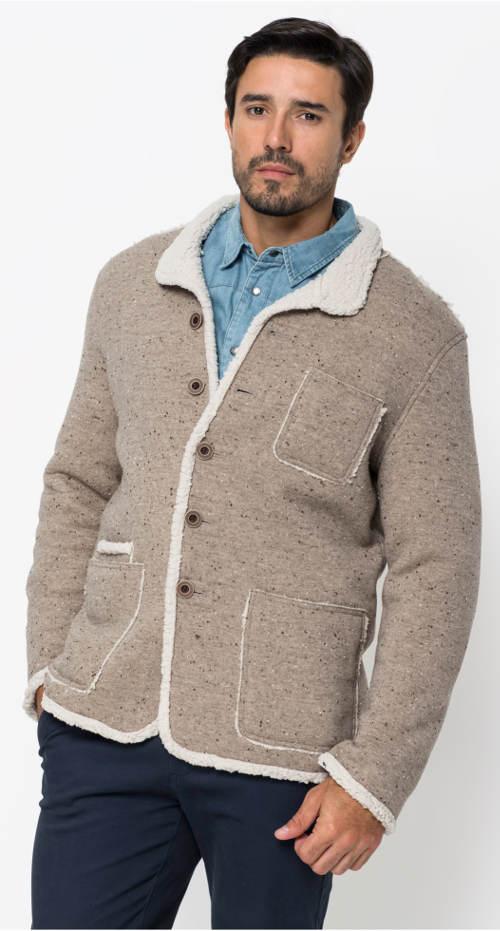Pánská bunda s měkkoučkým flísem