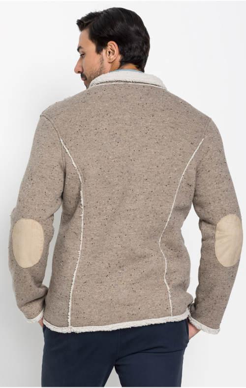 Pánská bunda pískový melír
