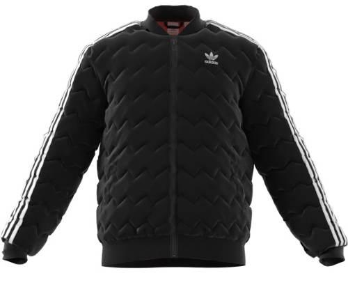 Pánská zimní bunda s vlnkovaným prošitím