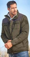 Pánská zimní vatovaná bunda