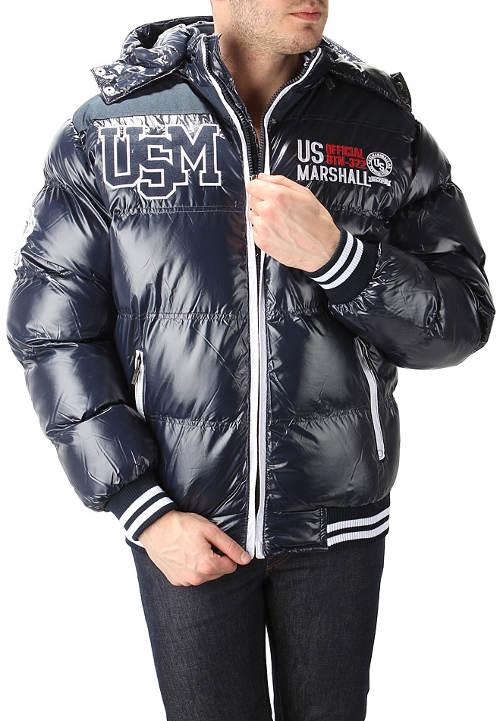 Prošívaná pánská bomber bunda na zimu