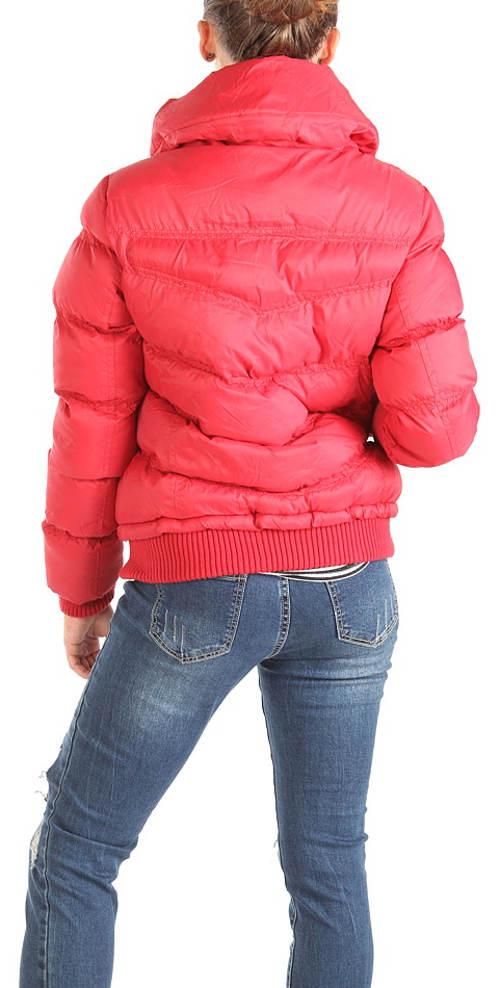 Růžová dámská zimní bunda Cherokee