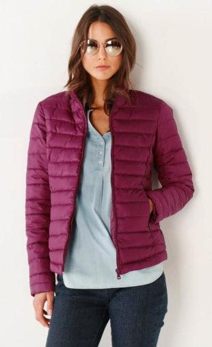 Ultra lehká dámská zimní bunda