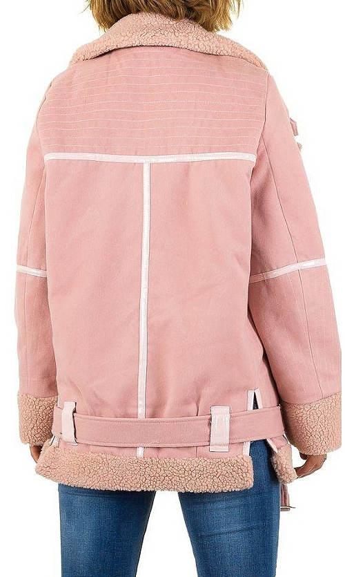 Dámská zimní bunda se spodním opaskem