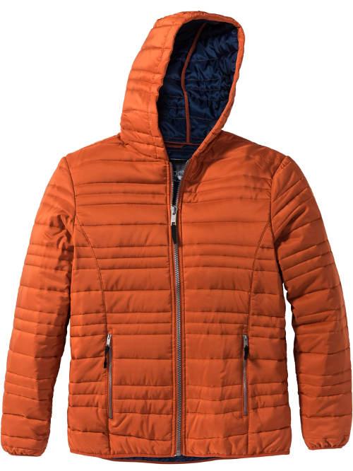 Oranžová pánská outdoorová bunda