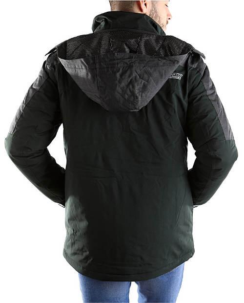 Černá pánská zimní bunda výprodej