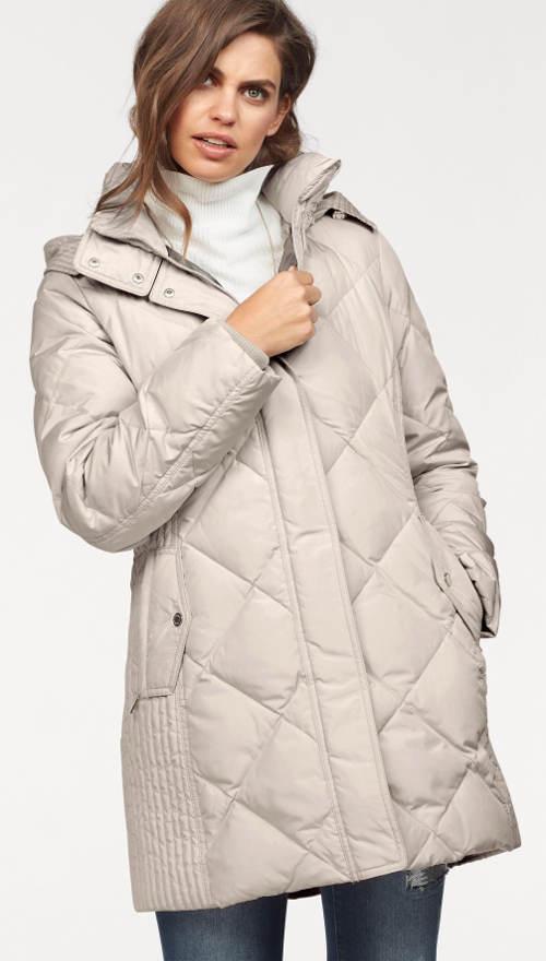 Teploučká pérová dámská zimní bunda Fuchs Schmitt