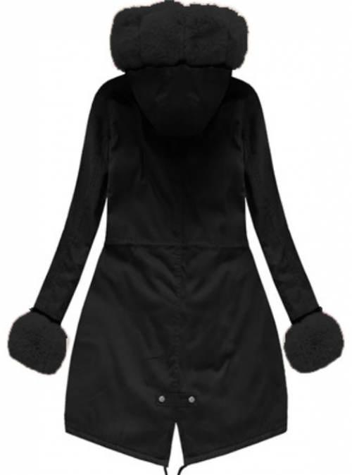 Zimní bunda co zahřeje i prsty