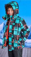 Dětská funkční lyžařská nepromokavá bunda