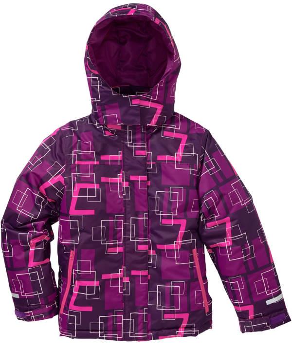Dětská zimní bunda s praktickým skrytým zipem