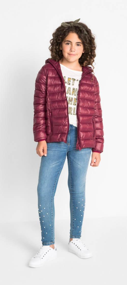 Dívčí zimní prošívaná bunda Bonprix