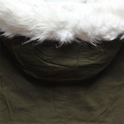 Hebounký kožíšek na kapuci