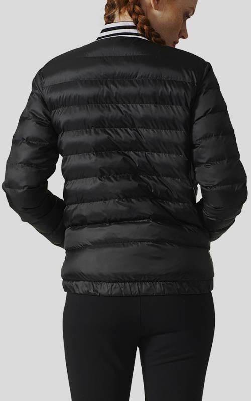 Krátká sportovní dámská zimní bunda Adidas