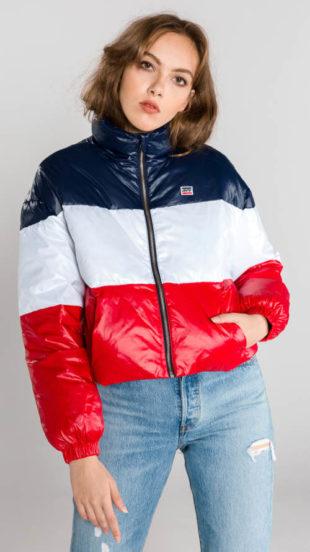 Levi's dámská zimní bunda trikolóra