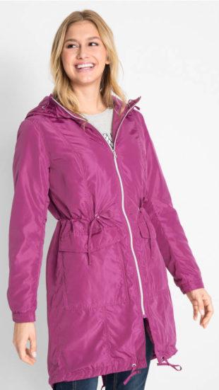 Ležérní dámský zimní kabát