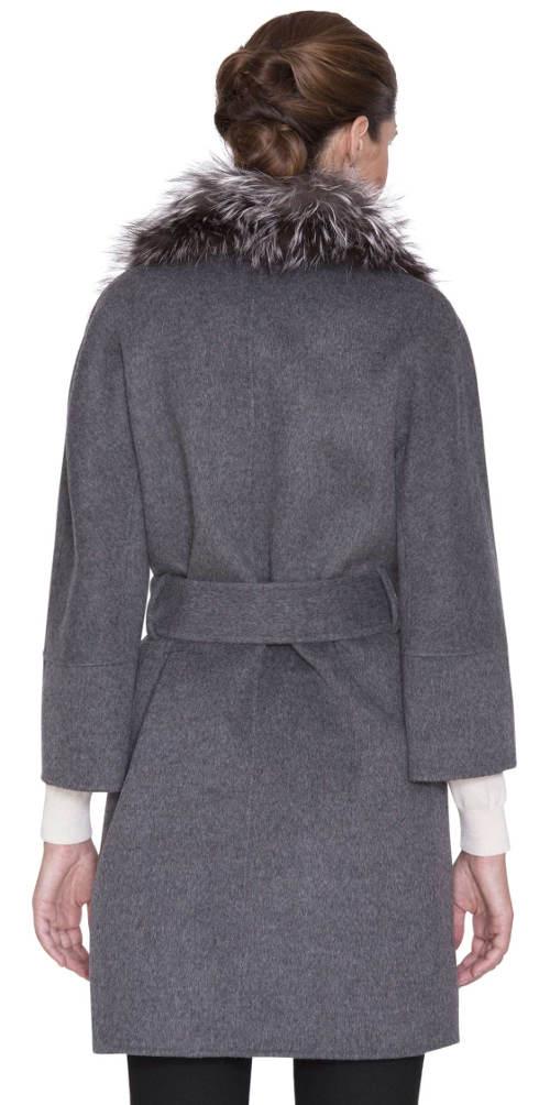 Luxusní dámský kabát Kara