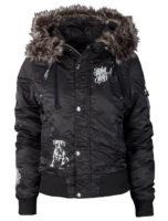 Moderní volnočasová dámská zimní bunda