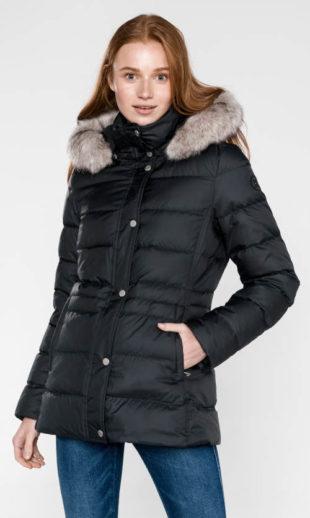 Nepromokavá dámská zimní bunda Tommy Hilfiger