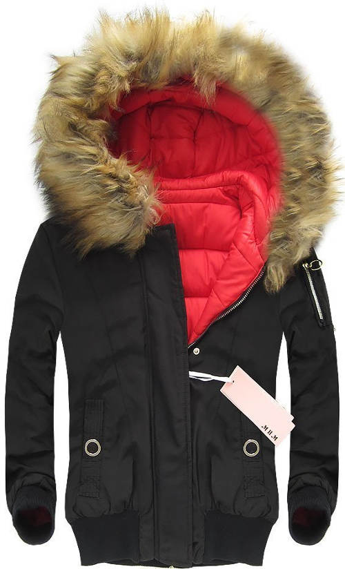 Oboustranná dámská zimní bunda