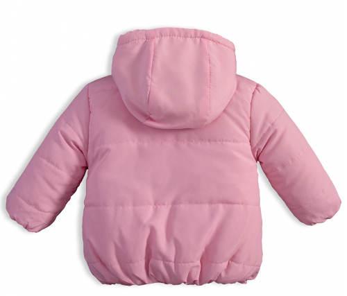 Růžová zimní bunda pro miminko