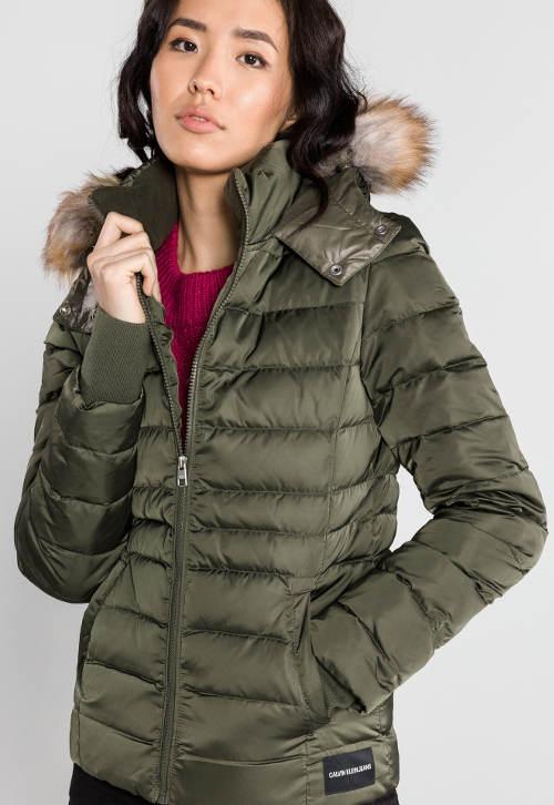 Dámská péřová zimní bunda Calvin Klein