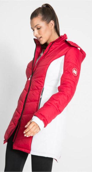 Funkční prošívaný sportovní zimní kabát
