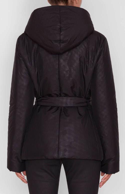 Luxusní dámská zimní bunda se stažením v pase