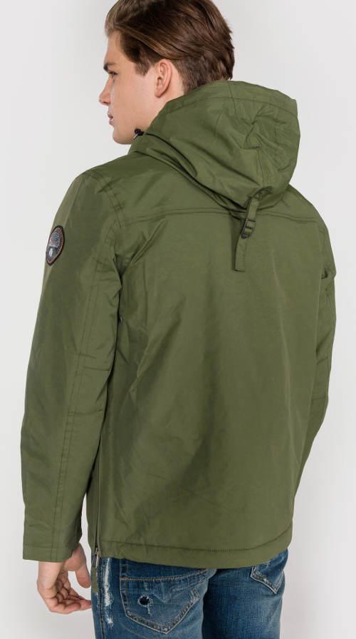 Pánská khaki outdoorová bunda