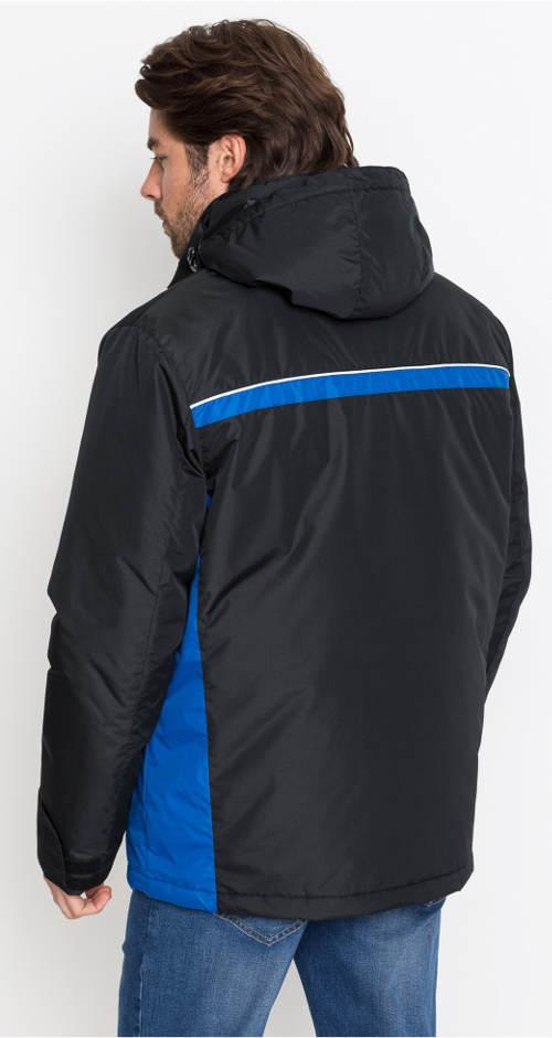 Vatovaná pánská bunda s kapucí