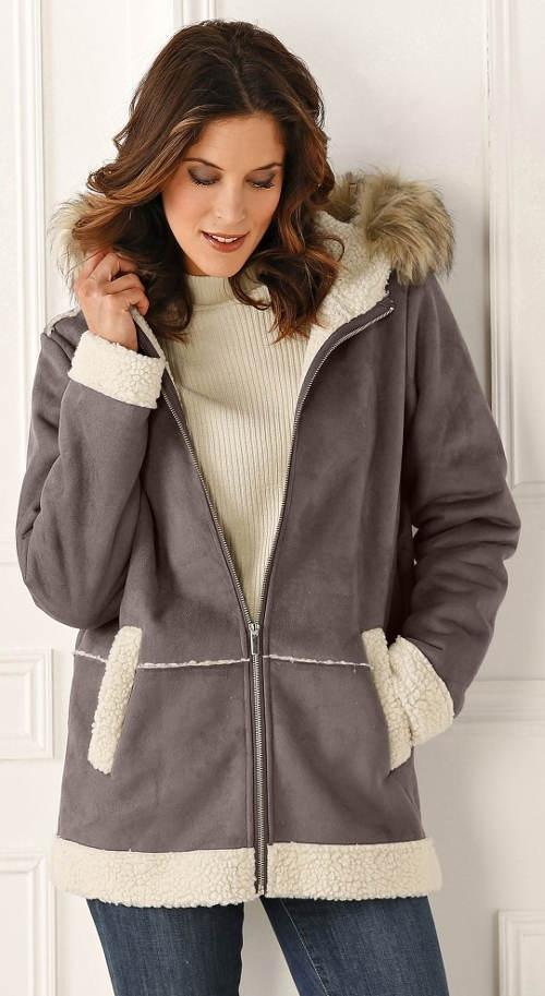 Vlněný dámský zimní kabát výprodej