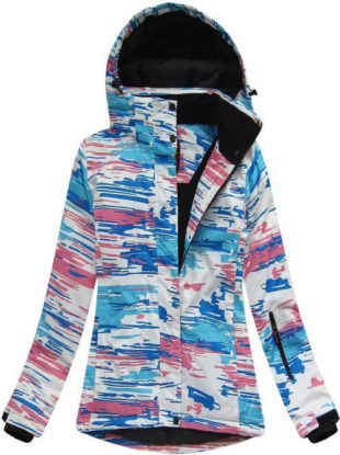 Dámská zimí bunda s prodyšnou voděoodolnou membránou 12040888a68