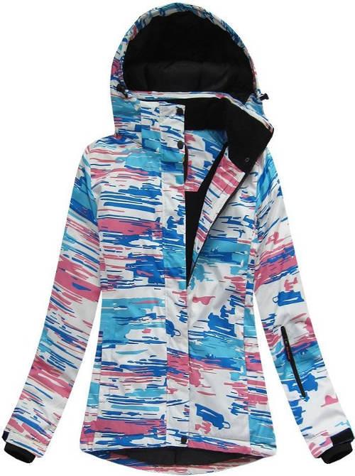 Dámská zimí bunda s prodyšnou voděoodolnou membránou