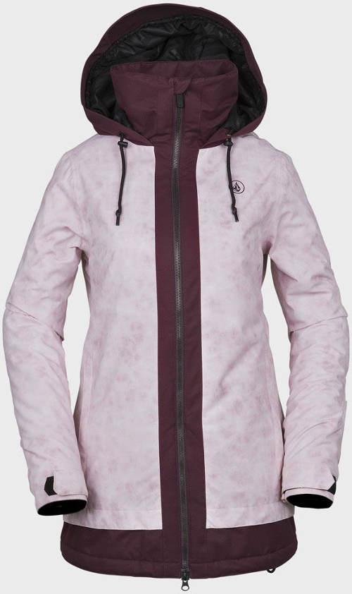 Fialková dámská zimní bunda WESTLAND