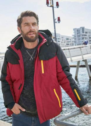 Funkční zimní pánská bunda