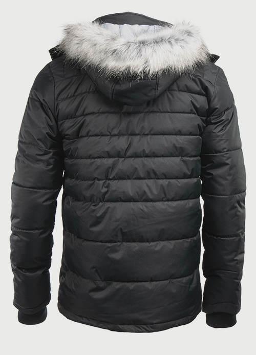 Pánská zimní bunda Alpine Pro s umělým kožíškem