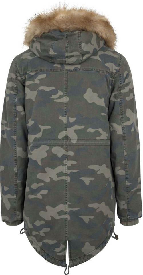 Delší pánská vojenská bunda