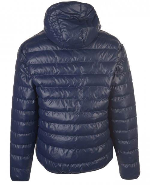 Modrá prošívaná pánská zimní bunda Dunlop