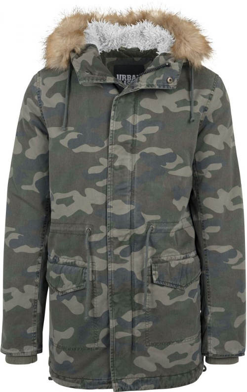 Pánská zimní bunda v army stylu