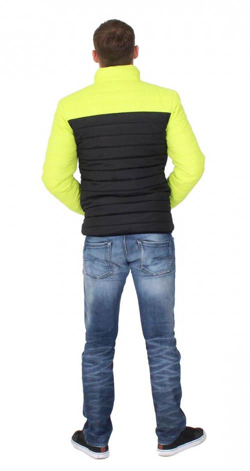 Sportovní pánská zimní bunda bez kapuce