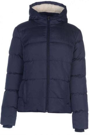 Modrá dámská zimní bunda s velkou slevou