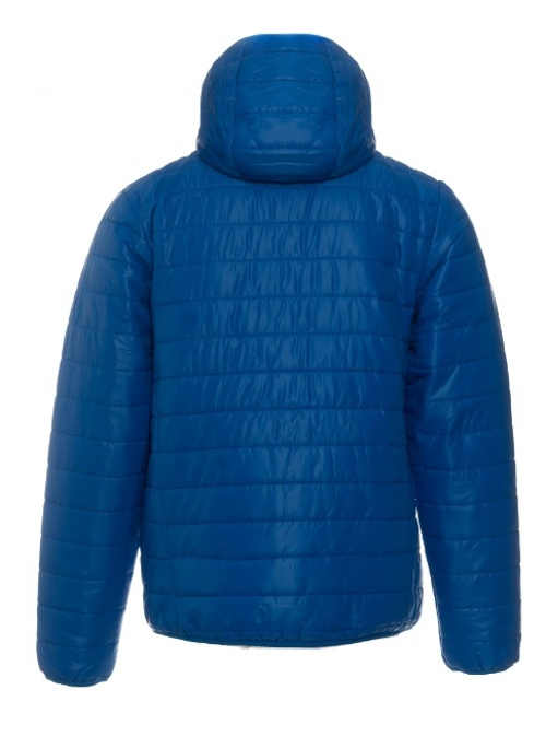 Výprodejová pánská zimní bunda modré barvy