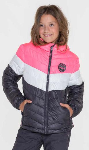 Prošívaná dívčí lyžařská bunda SAM 73