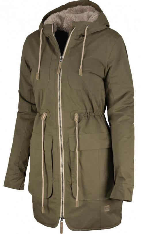 Dámský zlevněný zimní kabát Loap