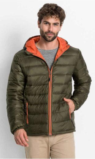 Prošívaná bunda zimní bunda Bonprix s kapucí