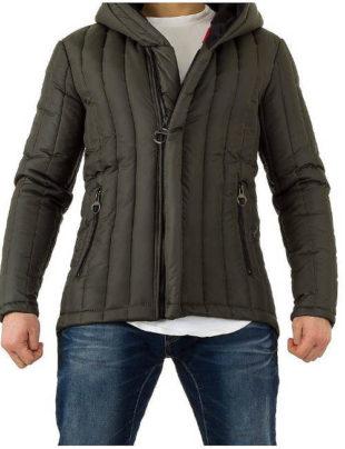 Asymetrická pánská zimní bunda Uniplay